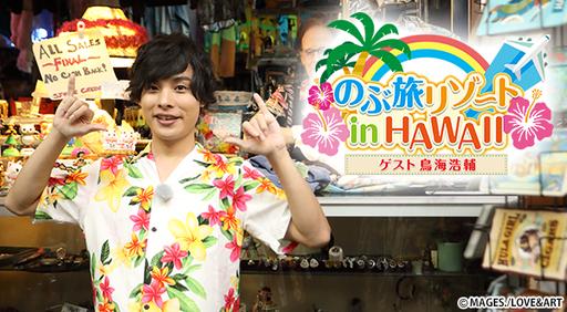 のぶ旅リゾート in HAWAII